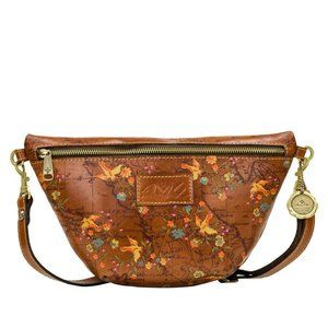 Patricia Nash TINCHI Crossbody Bag FLORAL MAP